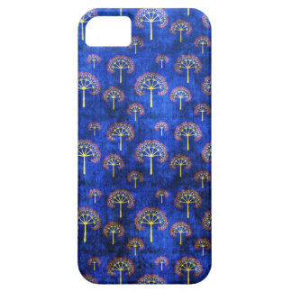 Cool oriental blue japanese abstract tree indigo case for the iPhone 5