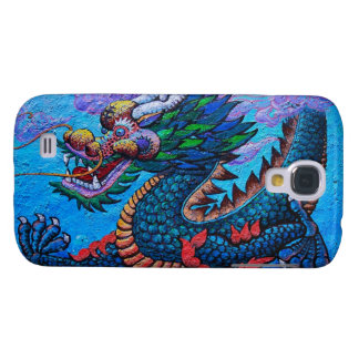 Cool oriental chinese oil colourful dragon paint