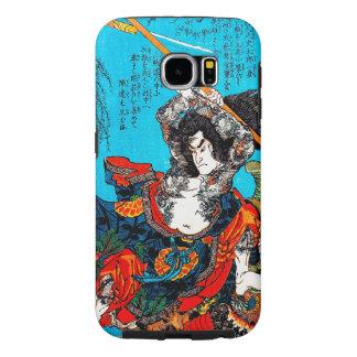 Cool oriental japanese Ancient Samurai Warrior Jo Samsung Galaxy S6 Cases