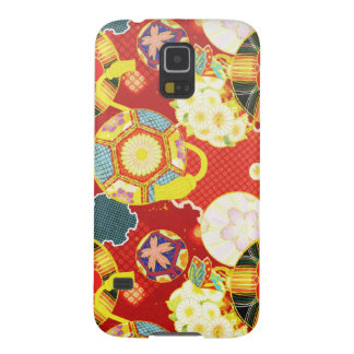 Cool oriental japanese colourful pattern galaxy s5 case