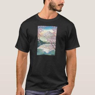 Cool Oriental Japanese Fuji Spring Cherry Tree Art T-Shirt