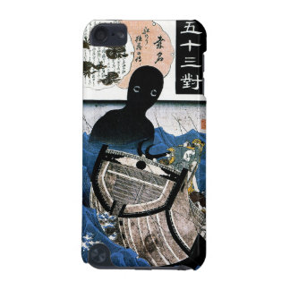 Cool oriental japanese Kuniyoshi sea demon art iPod Touch 5G Cases