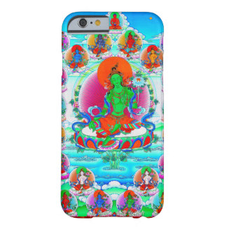 Cool oriental tibetan thangka Green Tara tattoo Barely There iPhone 6 Case