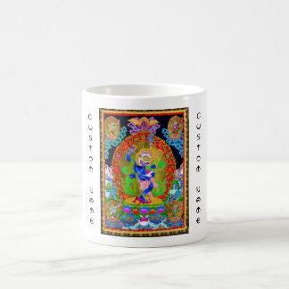 Cool oriental tibetan thangka Simhavaktra Dakini Coffee Mug