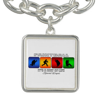 Cool Paintball It Is A Way Of Life Bracelets