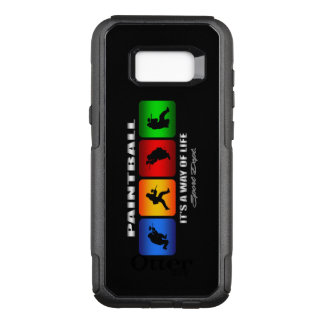 Cool Paintball It Is A Way Of Life OtterBox Commuter Samsung Galaxy S8+ Case