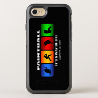 Cool Paintball It Is A Way Of Life OtterBox Symmetry iPhone 8/7 Case