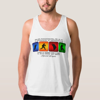 Cool Paintball It Is A Way Of Life Tank Top