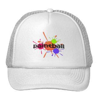 Cool paintball trucker hat