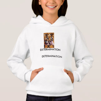 Cool painting of African girls on hoodie