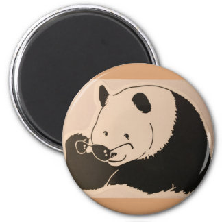Cool Panda with Shades Magnet
