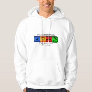 Cool Parachuting It Is A Way Of Life Hoodie
