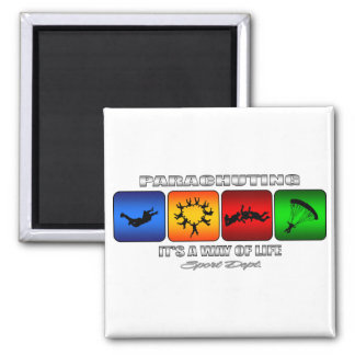 Cool Parachuting It Is A Way Of Life Magnet