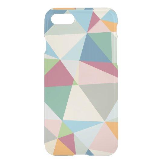 Cool Pastel Colours Geometric Pattern iPhone 8/7 Case