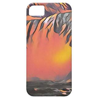 Cool Peach Artistic Waterfall iPhone 5 Cover