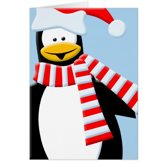 Cool Penguin Card
