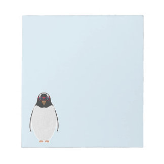 COOL PENGUIN NOTEPAD