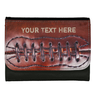 Cool Personalized Vintage Football Wallets