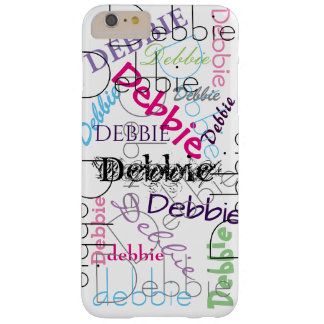 Cool Personalized | Your Name Barely There iPhone 6 Plus Case