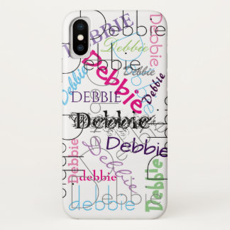 Cool Personalized   Your Name iPhone X Case