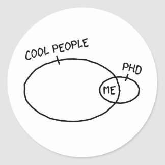 Cool PhD Sticker