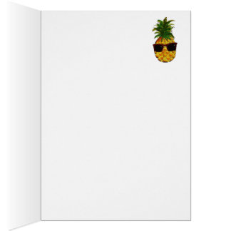 Cool pineapple card