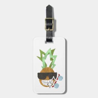Cool Pineapple Luggage Tag