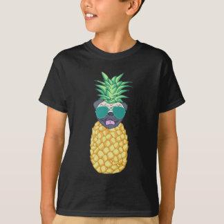 Cool Pineapple Pug T-Shirt