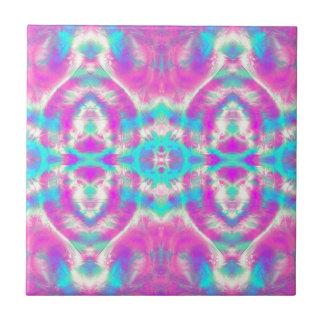 COOL Pink and Blue Pattern Ceramic Tiles