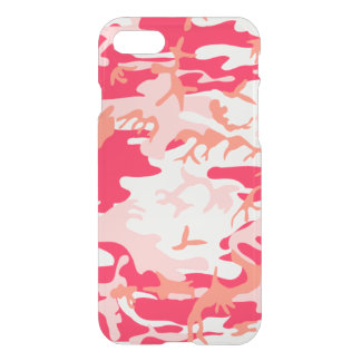 Cool Pink Camo Pattern iPhone 7 Case