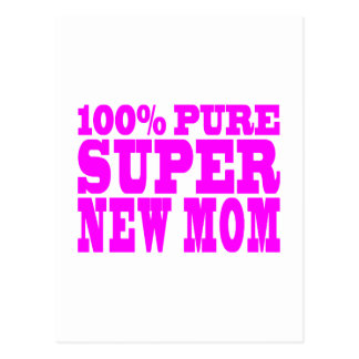 Cool Pink Gifts 4 New Moms : Super New Mom Postcard