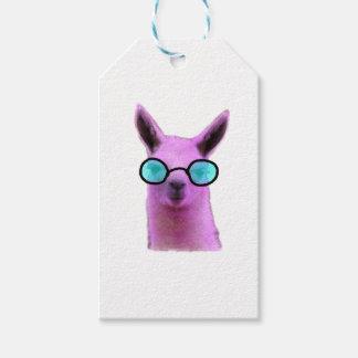 Cool Pink Llama! Gift Tags