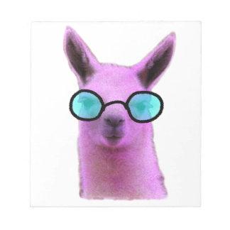Cool Pink Llama! Notepad