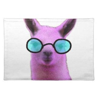 Cool Pink Llama! Placemat