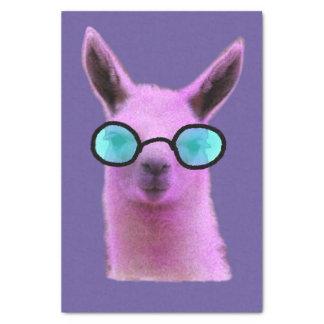 Cool Pink Llama! Tissue Paper