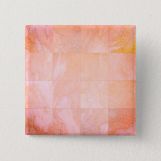 Cool pink marble textured square button