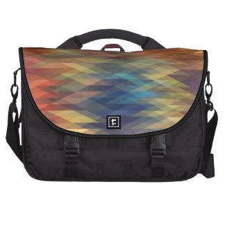 cool pixel pattern commuter bags