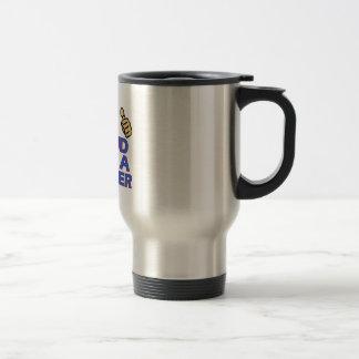 cool plumber designs travel mug