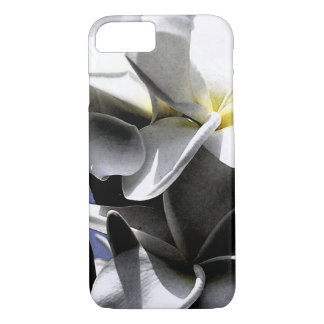 Cool Plumeria Flowers iPhone 7 Case