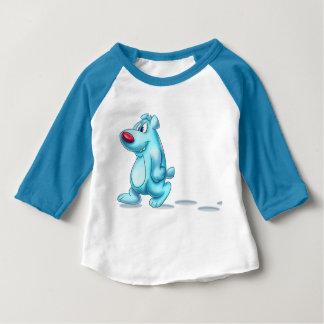 Cool polar bear cartoon baby shirt