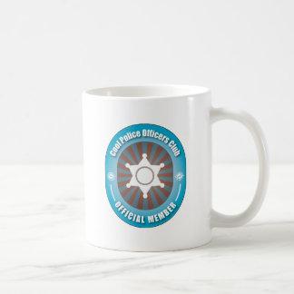 Cool Police Officers Club Coffee Mug