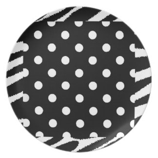 COOL POLKA DOT PARTY [PLATES PLATE