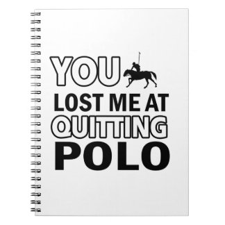 Cool polo designs notebooks