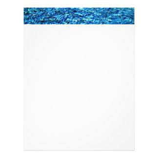 Cool pool water tiles HFPHOT24 Letterhead Design