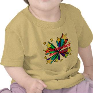 Cool Pop Art Stars Design T Shirts