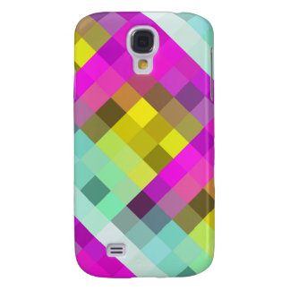 Cool & Popular Neon Colored Mosaic Pattern