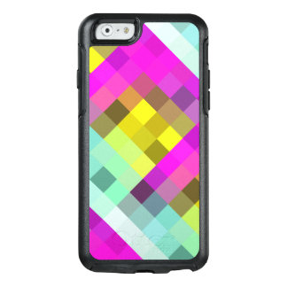 Cool & Popular Neon Colored Mosaic Pattern OtterBox iPhone 6/6s Case