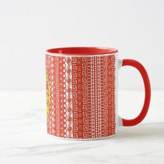 Cool Portugal Aztec flag Stylish pattern Mug