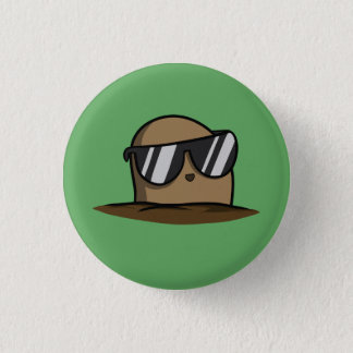 Cool Potato 1 Inch Round Button