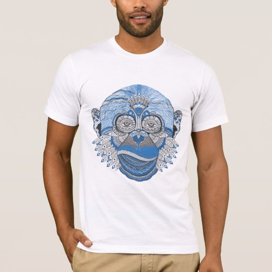 Cool psychedelic monkey T-Shirt